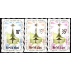 1975 Norfolk Island Mi.170-172 Christmas 2,00