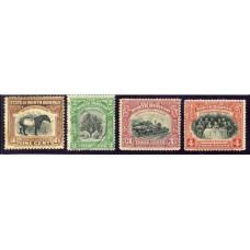 1909 North Borneo SG 158-161 (GBP 13.00)