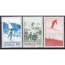 1979 Norway Mi.790-92 Sport 1,50 €