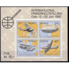 1979 Norway Mi.799-802/B2 Planes 4,00 €