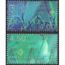 1994 Norway Mi.1159-1160 Europa 3,00