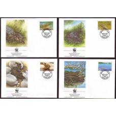 1994 Palau Mi.690-693FDC WWF / Reptiles 7,00 €