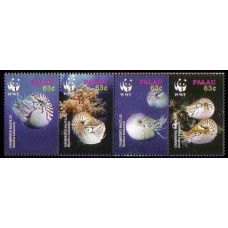 2006 Palau Mi.2530-2533VB Sea fauna 6,40 €