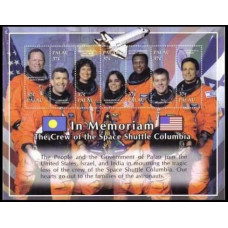 2003 Palau Mi.2233-2239KL Columbia Space Shuttle 6,50 €