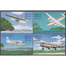 1985 Palau Mi.92-95VB Planes 4,20