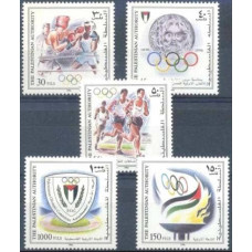 1996 Palestina Mi.52-56 1996 Olympiad Atlanta 6,50 €