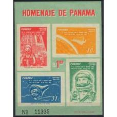 1962 Panama Mi.633-636/B12b John Glenn / Spacecraft 4,50 €