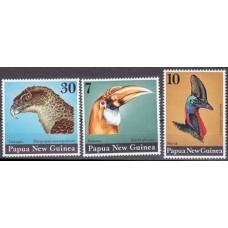 1974 Papua New Guinea Mi.272-274 Birds´ heads 10,00 €