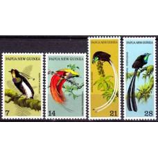 1973 Papua New Guinea Mi.240-243 Birds of Paradise 10.00 ?