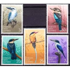 1981 Papua New Guinea Mi.402-406 Kingfishers 3.80 ?