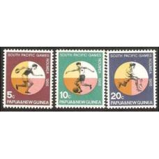 1966 Papua New Guinea Mi.99-101 Sport 1.40 €