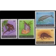1980 Papua New Guinea Mi.398-401 Fauna 3,20 €