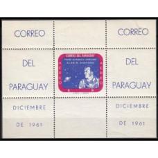 1961 Paraguay Mi.978/B12 Shepard / Saturn 30,00 €