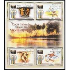2000 Penrhyn Island Mi.600-603KL 2000 Olympics in Sydney 16,00 €