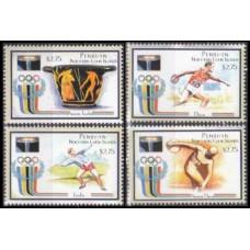 2000 Penrhyn Island Mi.600-603 2000 Olympics in Sydney 16,00 €
