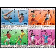 1980 Penrhyn Island Mi.151-158 1980 Olympic Moscow 3,60 €