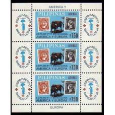 1977 Philippines Mi.1207/B11 Fauna / SPAMER - 77 20,00 €