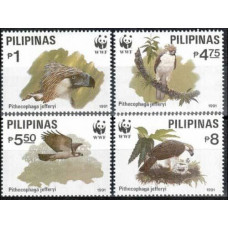 1991 Philippines Mi.2038-2041 WWF 14,00 €