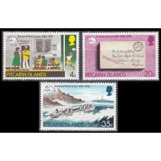 1974 Pitcairn Islands Mi.141-143 Ships 2,50 €