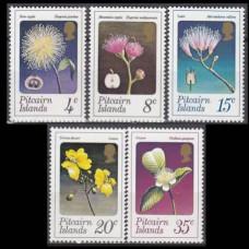 1973 Pitcairn Islands Mi.130-134 Flowers 15,00 €