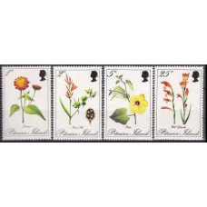 1970 Pitcairn Islands Mi.110-113 Flowers 10,00 €