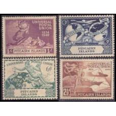 1949 Pitcairn Islands Mi.15-18** Transport 50,00 €