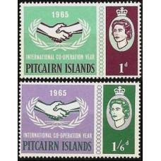 1965 Pitcairn Islands Mi.54-55* Elizabet II 16,00 €