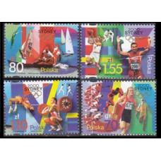 2000 Poland Mi.3854-3857 2000 Olympiad Sydney 3,20 €