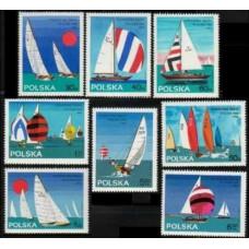 1965 Poland Mi.1587-1594 Ships with sails 7,00 €