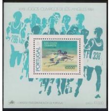 1984 Portugal Mi.1639/B45 1984 Olympiad Los Angeles 10,00 €