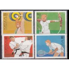 1984 Portugal Mi.1635-38 1984 Olympiad Los Angeles 12,00 €