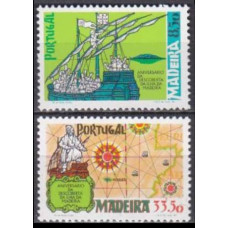 1981 Portugal - Madeira Mi.71-72 Ships with sails 3,00 €