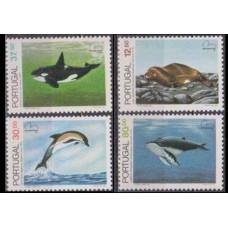 1983 Portugal Mi.1604-607 Sea fauna 14,00 €