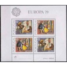 1979 Portugal Mi.1441-42/B27 Europa 10,00 €