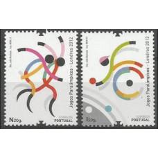 2012 Portugal Mi.3738-3739 2012 Olympiad London