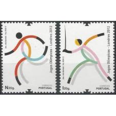 2012 Portugal Mi.3736-3737 2012 Olympiad London