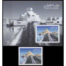 2008 Qatar Mi.1344+1345/B61 Architecture