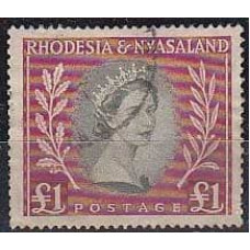 1954 Rhodesia & Nyasaland Mi.16 used 32.00 €