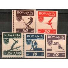 1946 Rumania Michel 1000-1006b Sport 2.50 €
