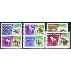 1966 Rumania Mi.2553-2558 Fauna 9,50 €
