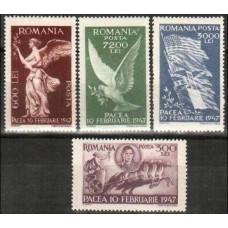 1947 Rumania Mi.1024-27 2.00