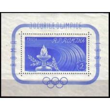1960 Rumania Mi.1859/B46 1960 Olympiad Rim 20.00
