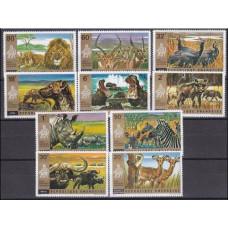 1972 Rwanda Mi.487-496 Fauna 11,00 €
