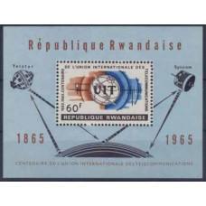 1965 Rwanda Mi.118/B4 UIT 4,00 €