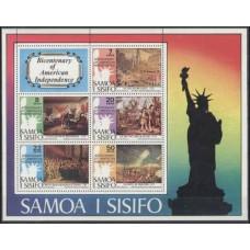 1976 Samoa Mi.328-332/B10 Paintings 6,50 €
