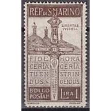 1923 San Marino Michel 99* 30.00 €