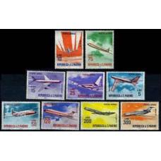 1963 San Marino Mi.792-800 Planes 1,60 €