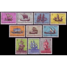 1963 San Marino Mi.750-759 Ships with sails 4,50 €
