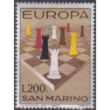 1965 San Marino Mi.842 Chess 1,00 €