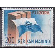 1963 San Marino Mi.781 Europa 1,00 €